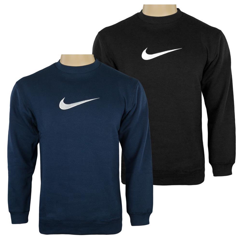 Nike Crew Kinder Rundhals Pullover Baumwolle Sweatshirt Jungen 2 Farben