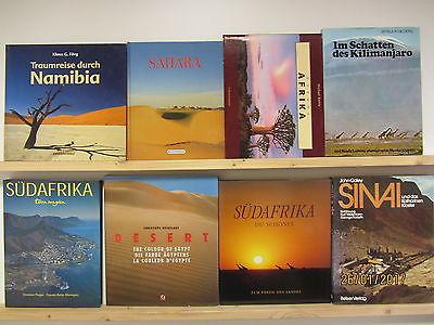 23 Bücher Bildbände Afrika afrikanische Länder afrikanische Landschaften