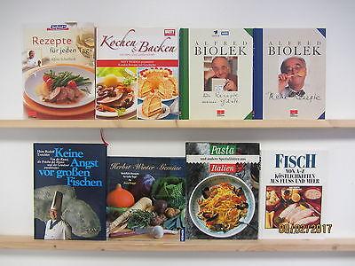 23 Bücher Kochbücher nationale und internationale Küche Paket 1 großformatig