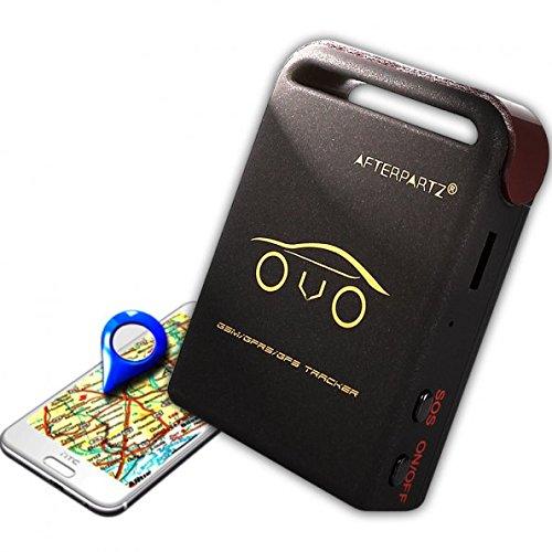 AFTERPARTZ® GPS Tracker OVO-102 Auto Überwachung GPS Ortung GSM GPRS Google 2 Stück Akku Kostenloser APP für iOS & Android