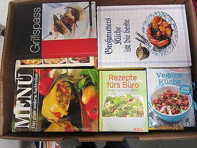 65 Bücher Kochbücher nationale und internationale Küche Paket 1