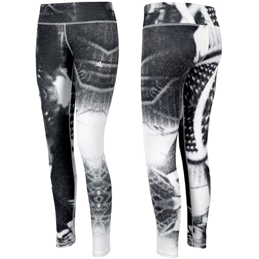 Adidas Techfit Damen Fitness Long Tight Leggings Laufhose Training Hose schwarz