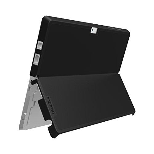 Incipio Feather Advance Hülle für Microsoft Surface 3 - von Microsoft zertifizierte, extrem leichte Schutzhülle mit Kickstand Kompatibilität - schwarz