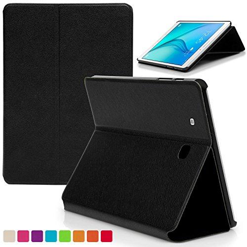Forefront Cases® Neue Hülle Tasche Case Cover für Samsung Galaxy Tab E 9.6 T560 (Juli 2015) - Ultra Schlank Superleicht Ständer mit Rundum-Geräteschutz