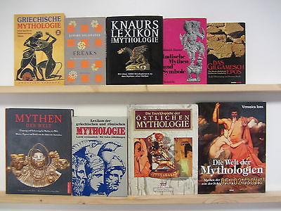 28 Bücher Bildbände Mythologie Mythen und Symbole Mystik Kulturgeschichte