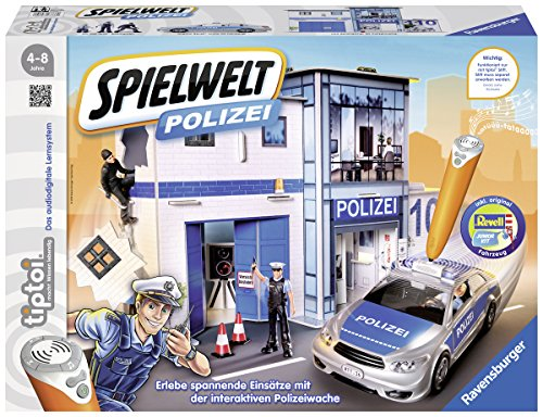 Ravensburger 00759 - tiptoi® Spielwelt Polizei