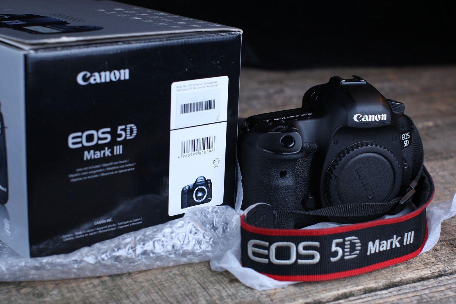 Canon EOS 5D Mark III 22.3MP Digitalkamera Wie Neue !!!