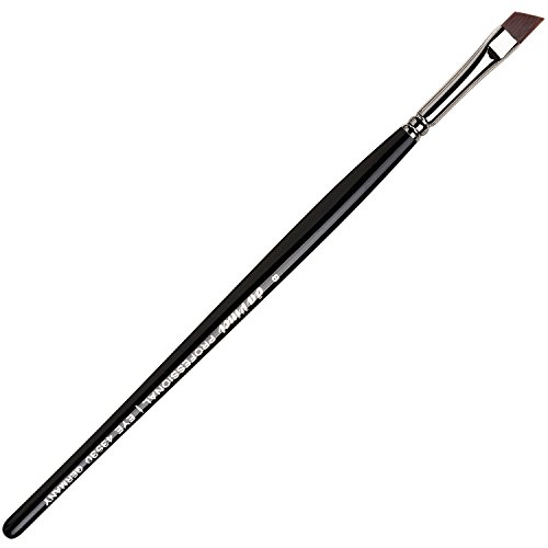 da Vinci Augenbrauenpinsel / Augenbrauenpinsel schräg / für Augenbrauenpuder und Augenbrauengel / Eyebrow brush for Eyebrow Pomade / Profi