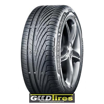 4x Sommerreifen Uniroyal RainSport 3 205/55 R16 91V (C,A)