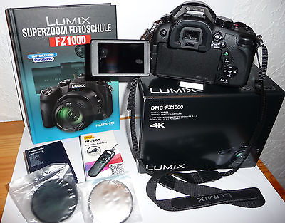 Panasonic LUMIX DMC-FZ1000 20.1 MP Digitalkamera - Schwarz