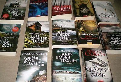 13 Thriller vom Bestseller-Autor Harlan Coben