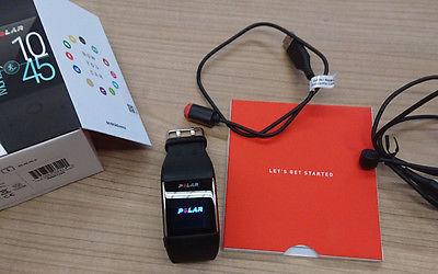 Polar M600 Android Wear Sportuhr GPS/Herzfrequenzmessung&zusätzliches Ladekabel