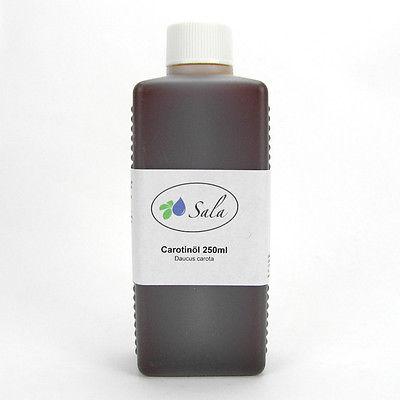 (3,00/100ml) Sala Carotinöl Karottenöl Carotin Karotten Öl Wirkstofföl 250 ml