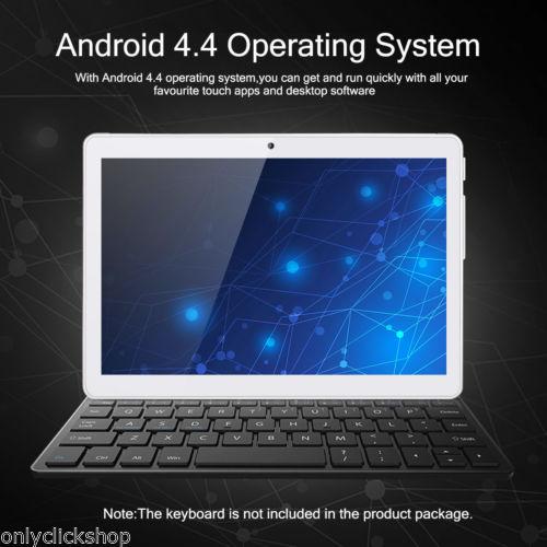 """10.1"""" Tablet PC Dual SIM Phone Tablet QuadCore1+16GB WiFi GPS OTG FM Up to 32G"""