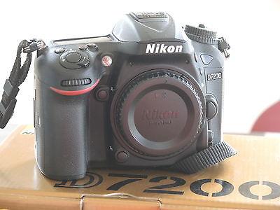 Nikon D D7200 24.2MP Digitalkamera - Schwarz