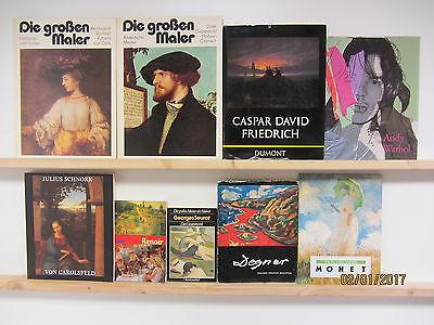 29 Bücher Maler Malerei Künstler Gemälde Rembrandt Vermeer Dürer Holbein u.a.