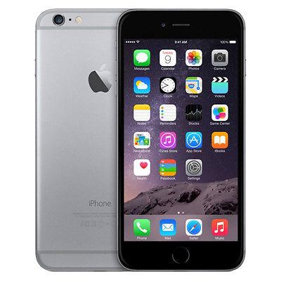Apple  iPhone 6 - 64GB - Spacegrau (Ohne Simlock) Smartphone