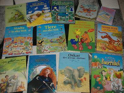 Bücherpaket 13 Kinderbücher Kinder Bilderbücher Opa gehört zu uns,Pfifferlein ua
