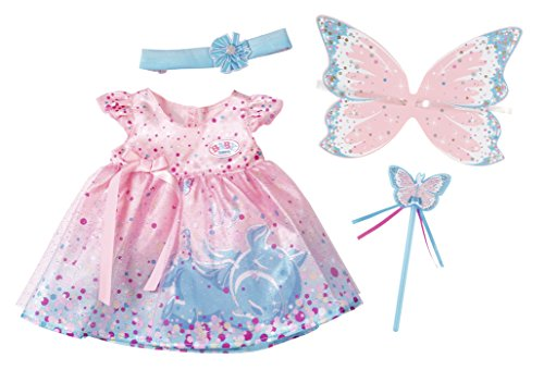 Zapf Creation 823644 - Baby born Wonderland Glitzerfee Set, Puppen