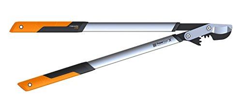 Fiskars Fiskars PowerGear X Bypass-Getriebeastschere für frisches Holz, Gehärteter Präzisionsstahl, Maße: Länge 80 cm, Orange/ Schwarz, LX98-L, 1020188, Schwarz&Orange
