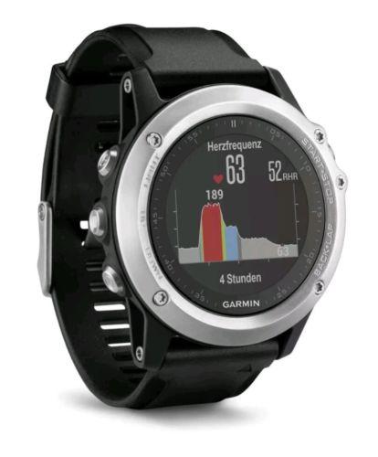 Garmin Fenix 3 HR silber GPS Multisport Uhr Fitness Aktivitätstracker NEU&OVP