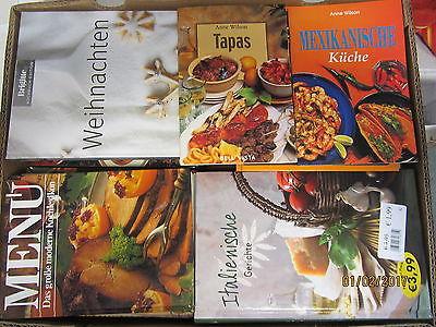 66 Bücher Kochbücher nationale und internationale Küche  Paket 1