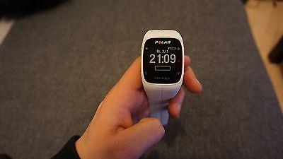 Polar M400 Laufuhr GPS weiss Fitnesstracker