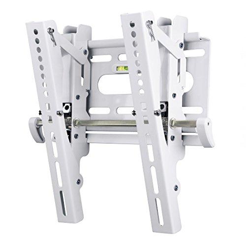 Hama TV-Wandhalterung MOTION, neigbar, für 48 - 94 cm Diagonale (19 - 37 Zoll), max. 25 kg, VESA bis 200 x 200, Wandabstand 5,2 cm, weiß