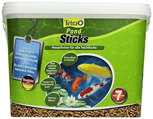 Tetra Pond Sticks (Hauptfutter für alle Gartenteichfische in Form von schwimmfähigen Sticks), 7 Liter Eimer