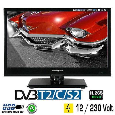 Reflexion LED167 LED-TV 15,6 Zoll 39,6 cm Fernseher DVB-S2 -C -T2 12/230 Volt