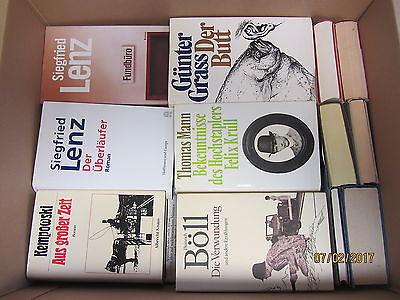 46 Bücher Romane deutsche Klassiker Mann Lenz Grass Kempowski Böll u.a.