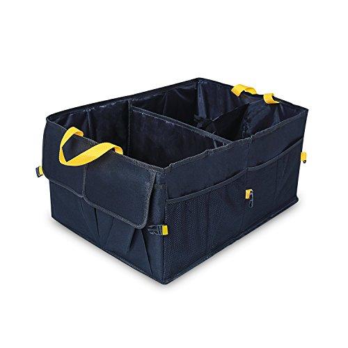 YIER Auto Kofferraum Organisator Vorratsbehälter Große Kofferraumtasche und Auto Faltschachtel