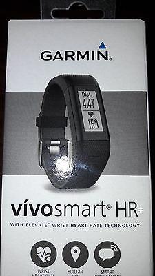 Garmin vívosmart HR+ Fitness-Tracker - GPS-fähig, Herzfrequenzmessung am Handgel