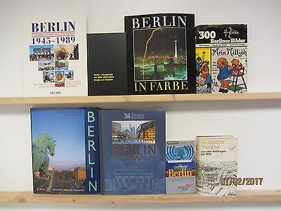39 Bücher Berlin berliner Geschichte Reiseführer Fotobildbände Kulturgeschichte