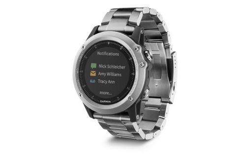 Garmin Fenix 3 Saphir Edition Titanium GPS Multi-Sport Smartwatch [NEU]