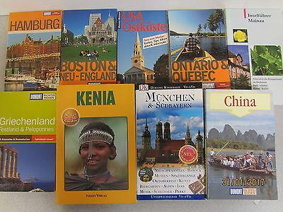 66 Bücher Reiseführer nationale und internationale Reiseführer