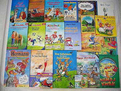 22  Kinderbücher /  Bilderbücher / Buchpaket  für Kinder  4-8 Jahre