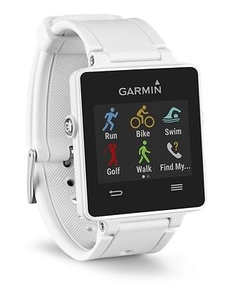 GARMIN VIVOACTIVE MULTI SPORT WATCH GPS ACTIVITY TRACKER SMART UHR WEIS