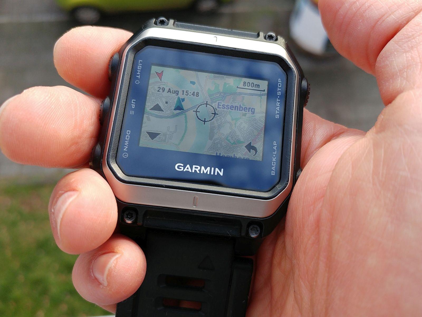 Garmin Epix GPS Sportuhr Outdoor Smartwatch Multisport Uhr Topo Karten Maps