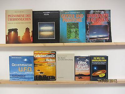 31 Bücher Bildbände Ufo Ausserirdische Aliens Übersinnliches Geister Phänomene
