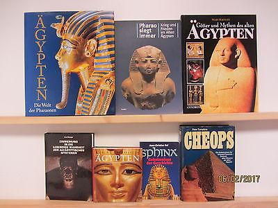 26 Bücher Bildbände ägyptische Kunst Kultur Geschichte Ägypten