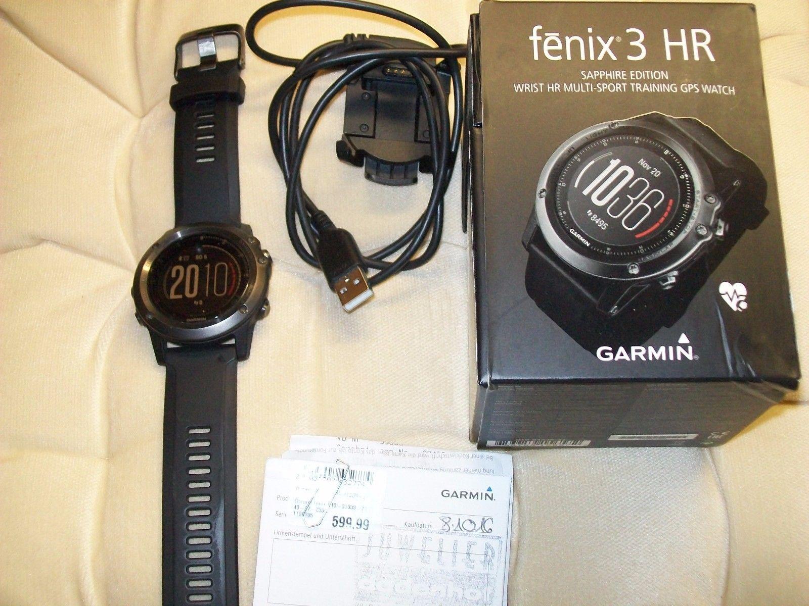 Garmin fenix 3 Saphir HR