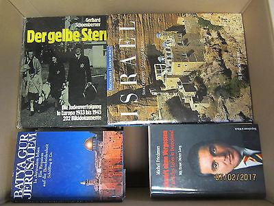 52 Bücher Israel Juden Judentum Zionismus Heiliges Land Judenverfolgung