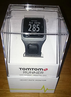 TomTom Runner GPS Watch Heart Rate Monitor Sportuhr Cardio