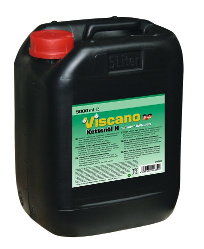 Kerbl 29860 Viscano Sägekettenöl H 5 Liter, mineralisch