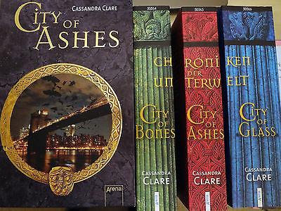 Cassandra Clare Chroniken der Unterwelt City of Bones Ashes Glass