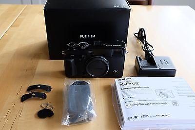 Fuji Fujifilm X-Pro 2 X-Pro2 schwarz Gehäuse TOP