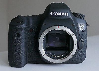 Canon EOS 6D Body / Gehäuse Verkauf ohne Objektiv, wie Neu nur 2546 Auslösungen!