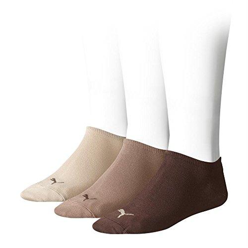 PUMA Unisex Sneakers Socken Sportsocken 6er Pack chocolate / walnut / safari 717 - 43/46