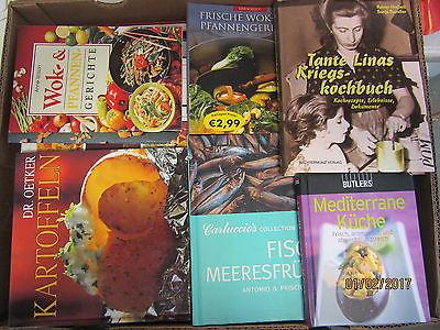 64  Bücher Kochbücher nationale und internationale Küche  Paket 2